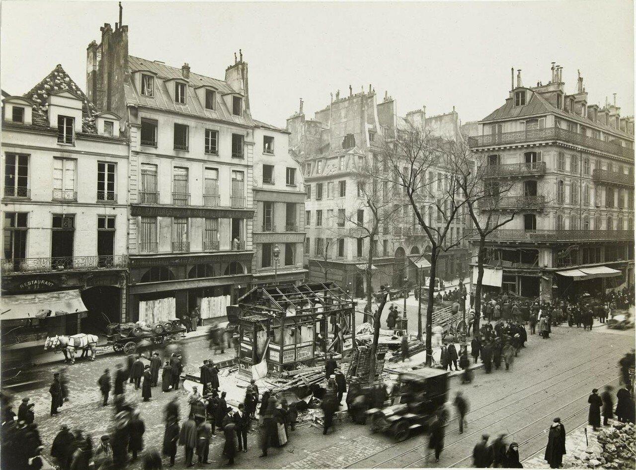 1918. Сен-Поль после бомбежек 12 апреля