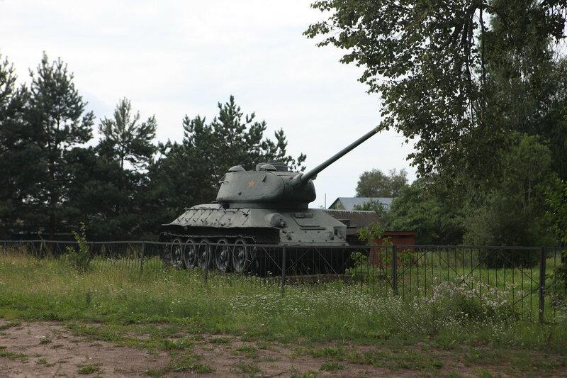 Поселок Пржвальское в Смоленском Поозерье, музей Партизанской Славы