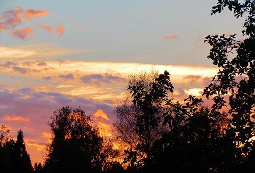 Закат сентября