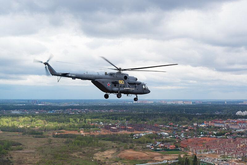 Миль Ми-8МТВ-5 (RF-91183 / 80 желтый) ВКС России D802866