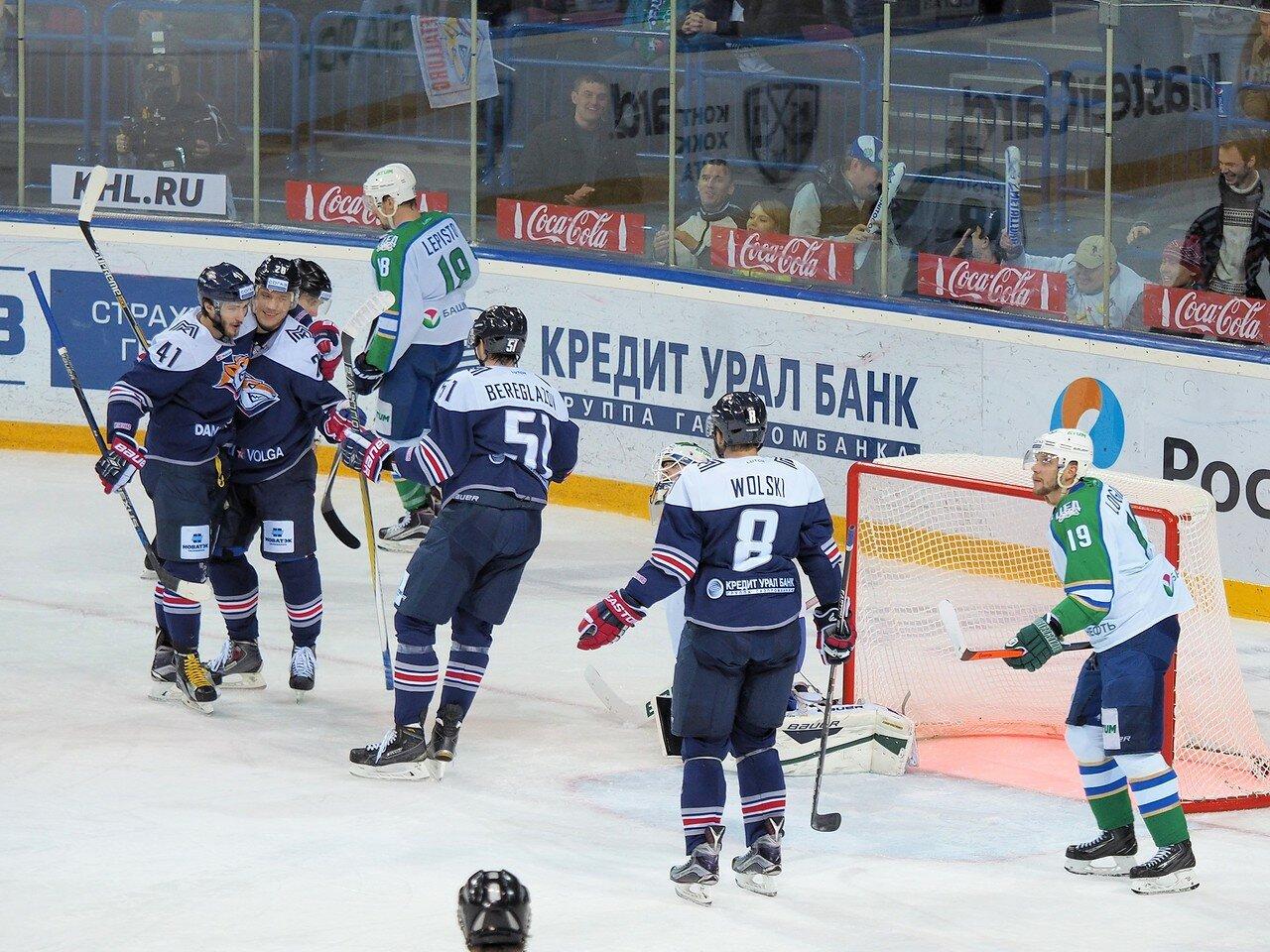 26Плей-офф 2016 Восток Финал Металлург - Салават Юлаев 25.03.2016