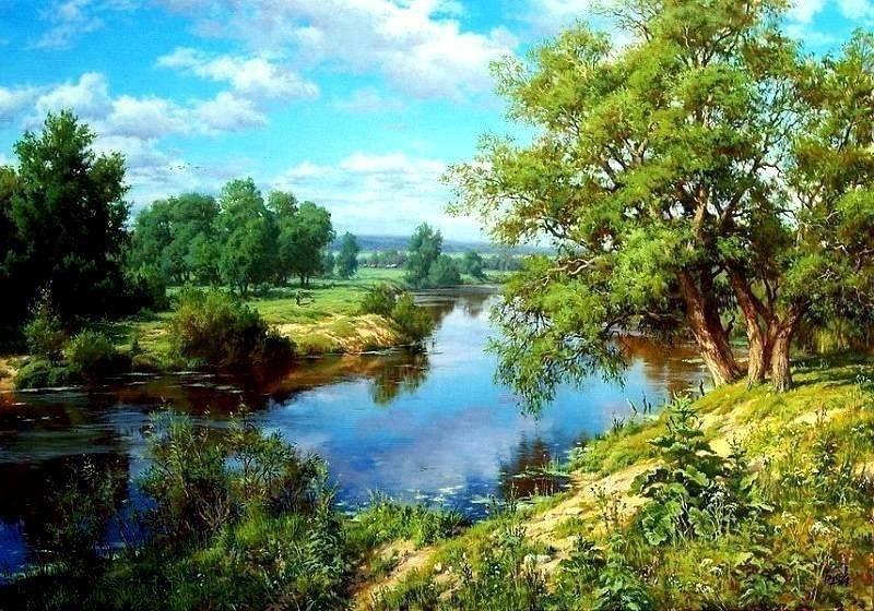 Красивые пейзажи Сергея Басова