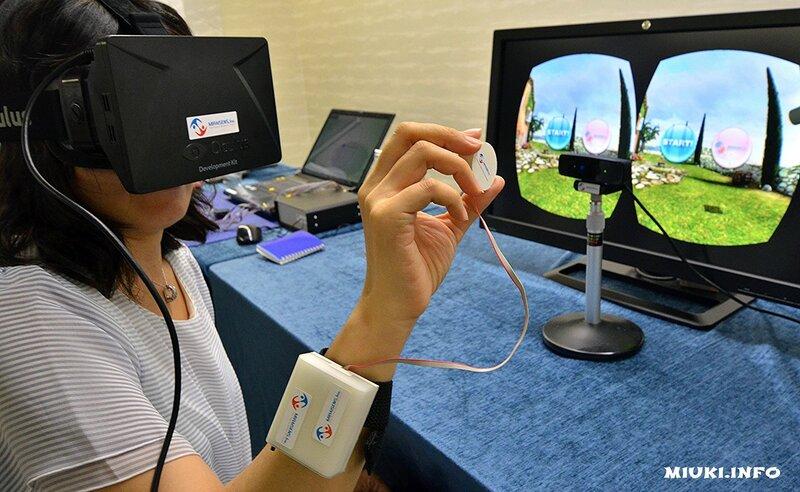 В Японии разработана тактильная технология для виртуального мира