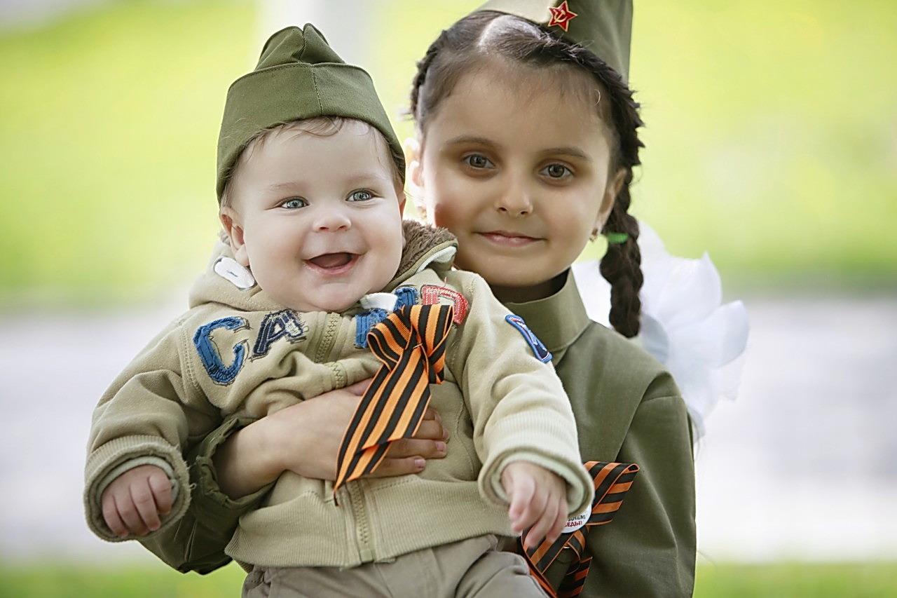 День Победы Дети