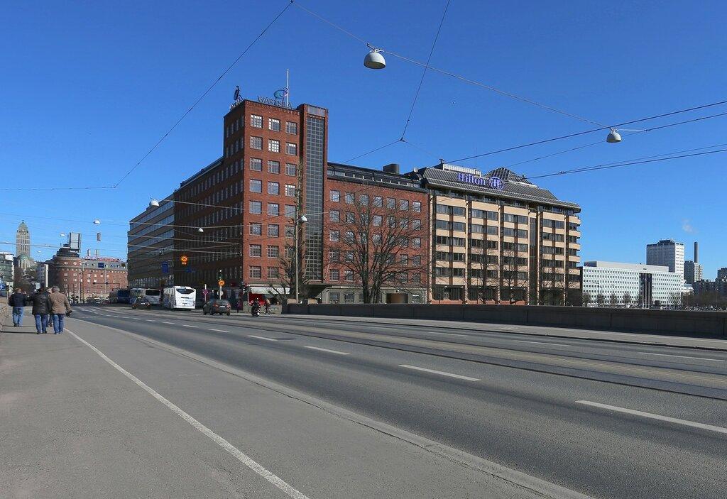 Хельсинки. Длинный мост (Pitkäsilta)