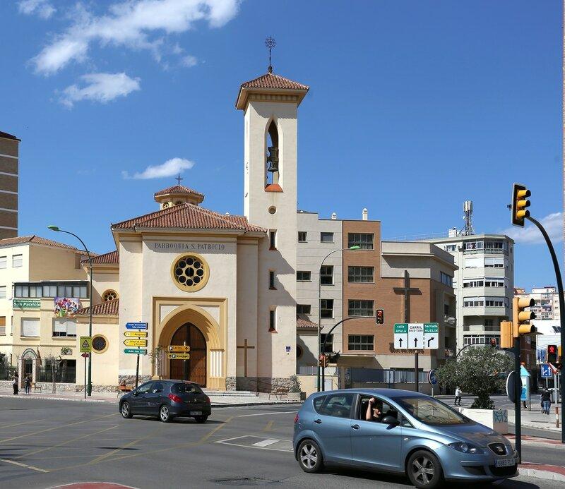 Малага. Церковь Святого Птрисия (Parroquia de San Patricio)