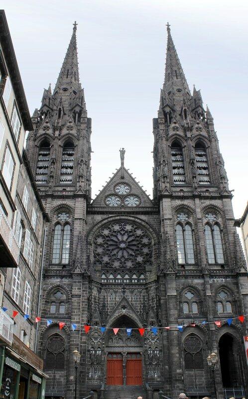 Клермон-Ферран. Собор Вознесения Девы Марии (Cathédrale Notre-Dame-de-l'Assomption)