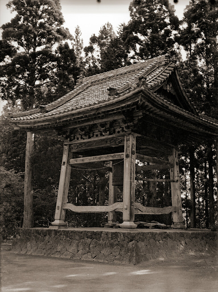 Japanese Shrine Bell Building, 1930s Japan.