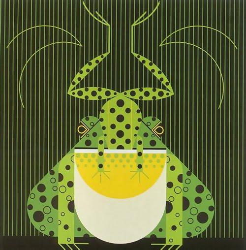 Американский иллюстратор Charley Harper / Чарли Харпер. Живая природа в минималистичных постерах