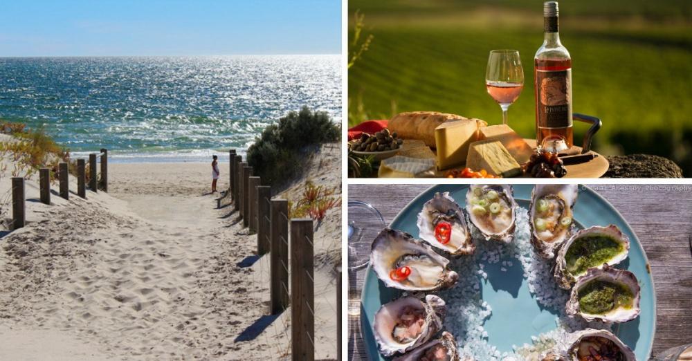 Крупнейший город региона— Аделаида. Южная Австралия славится чудесными виноградниками ияркими пейз