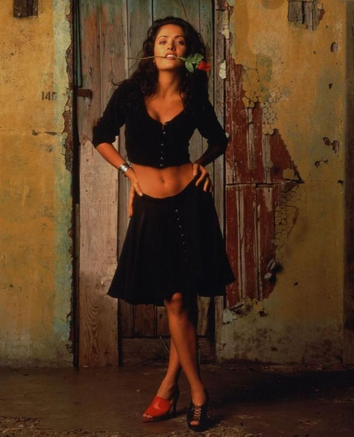 11. Сальма Хайек. 3-й размер Слава Богу, что мексикано-американская звезда Сальма Хайек выглядит так
