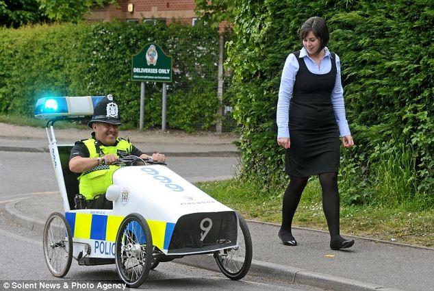 бюджетный полицейский