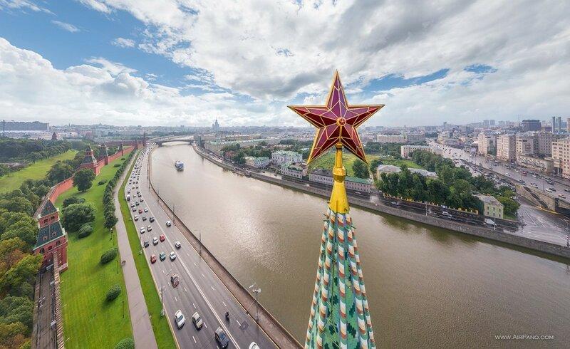 Звезда на Водовзводной башне, Московский Кремль