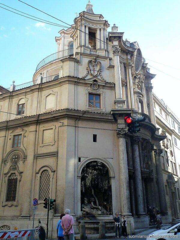 Церковь Св. Карло у Четырёх фонтанов