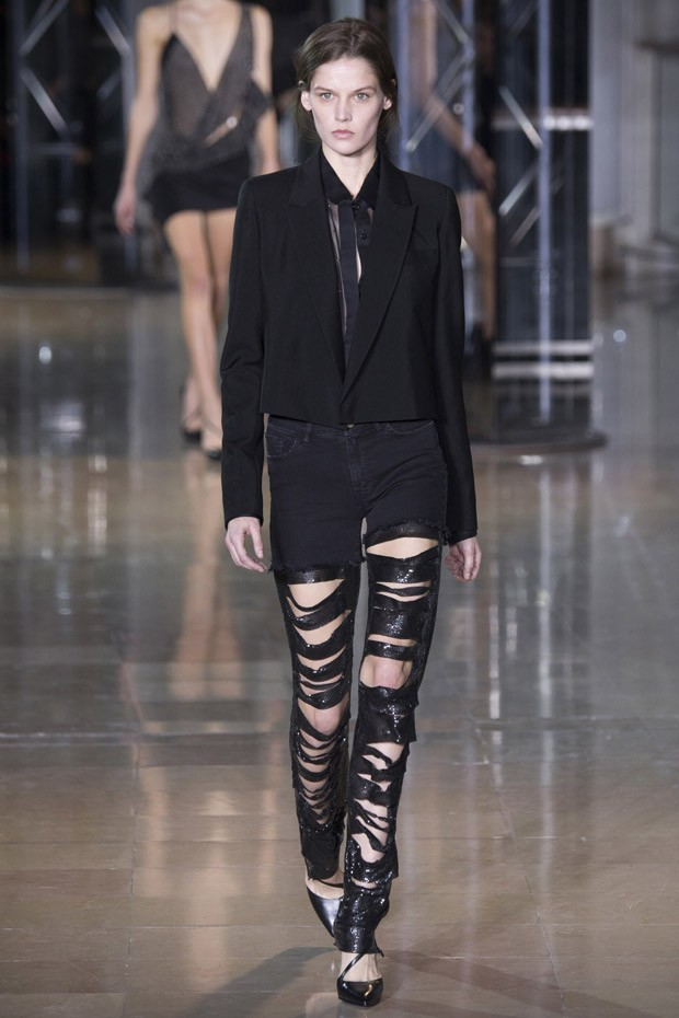 #PFW Anthony Vaccarello Fall Winter 2016.17 Collection