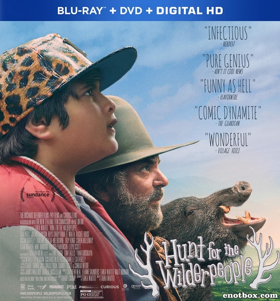 Охота на дикарей / Hunt for the Wilderpeople (2016/BDRip/HDRip)
