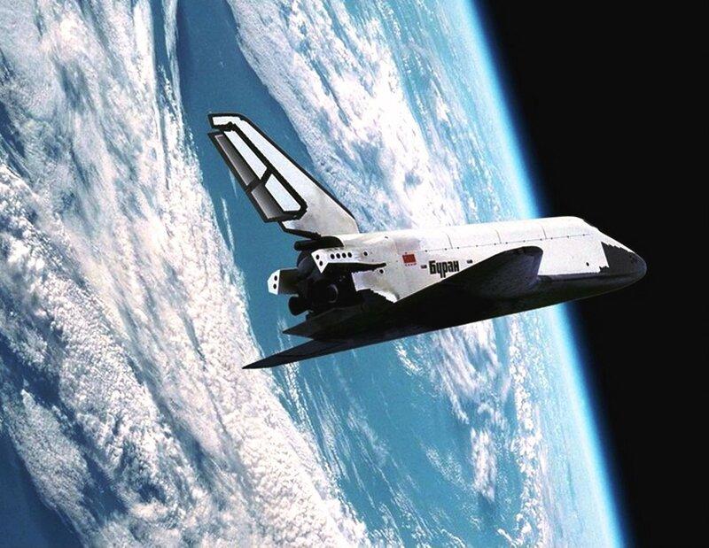 Буран - советский крылатый орбитальный корабль многоразового использования...Buran 1.jpg