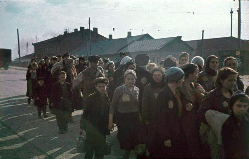 Узники Минского гетто
