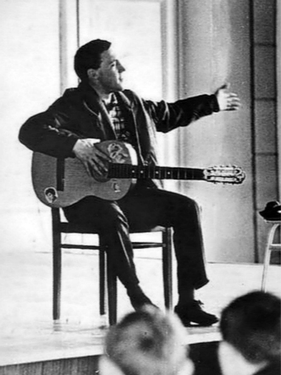 1963. Выступление Владимира Высоцкого в Ленинграде. Фото 10-25 апреля.