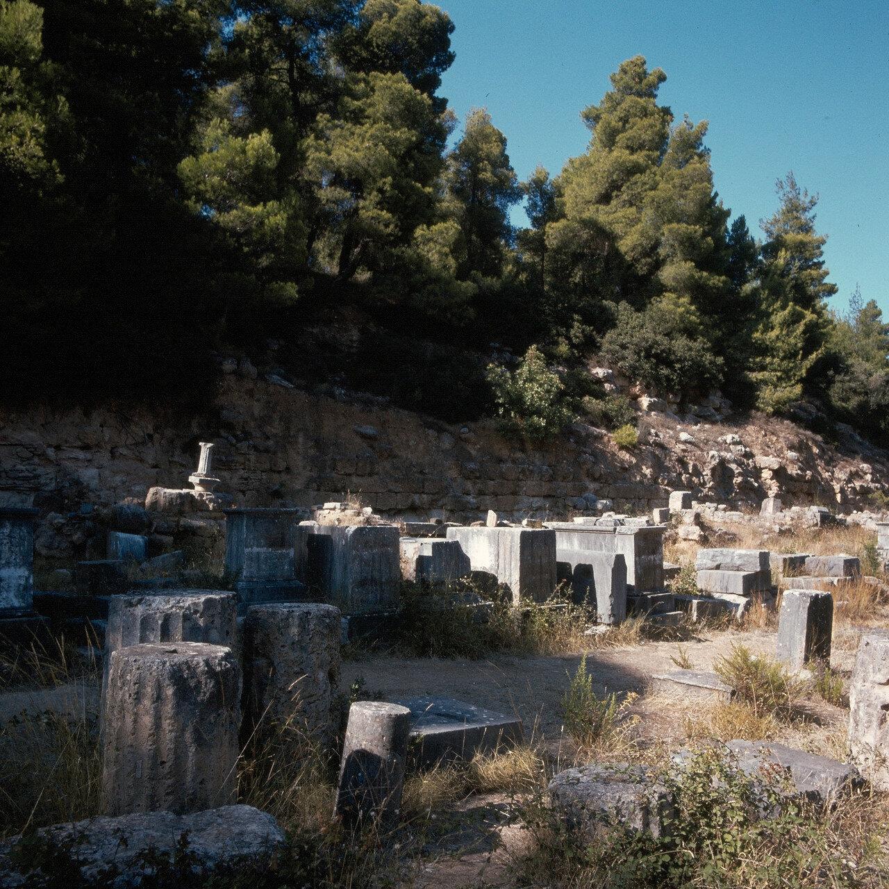 Археологический парк «Амфиарий». Храм