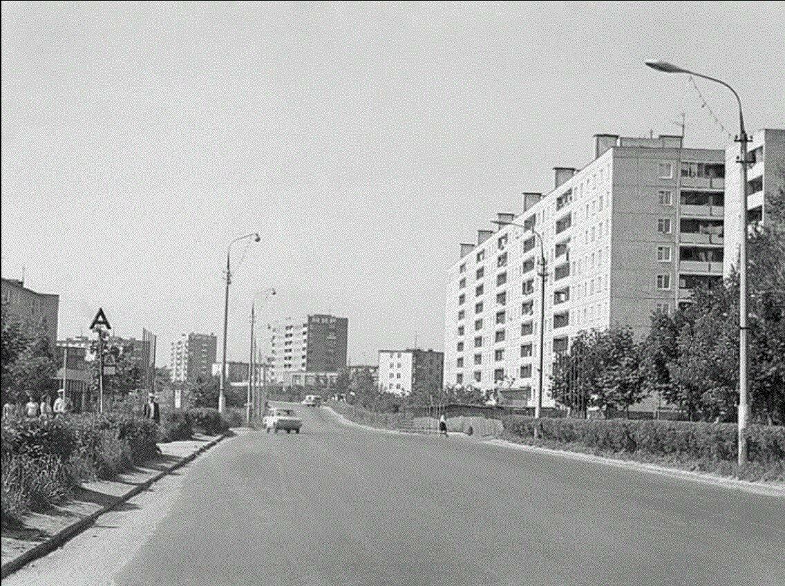 1976. Новомытищинский проспект