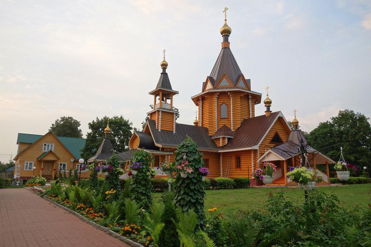храм из бревен, Сартаково