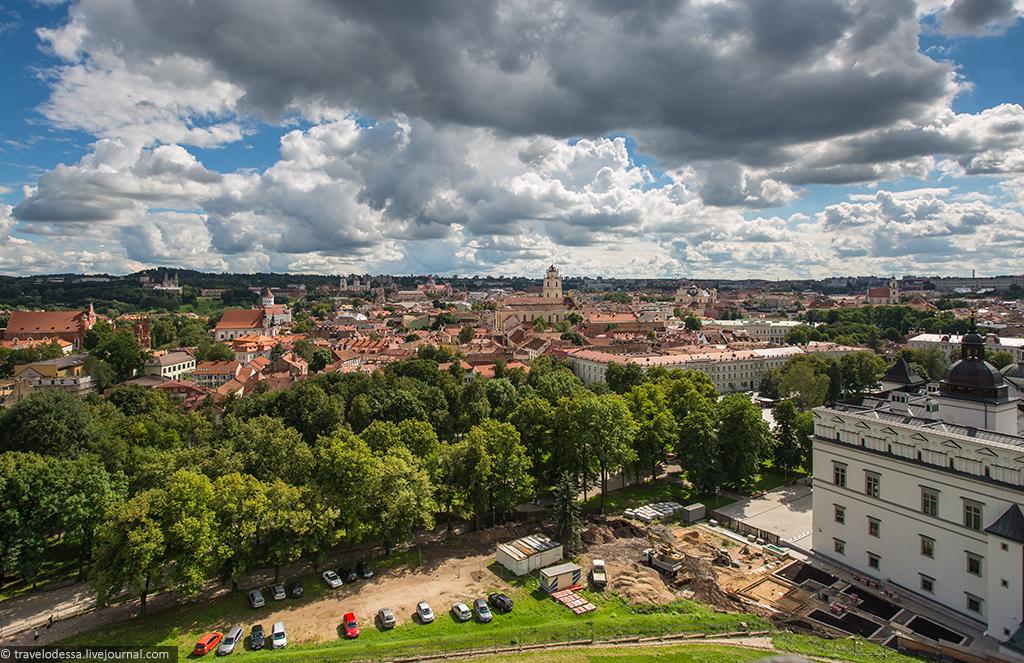 Вильнюс 360° с высоты Башни Гедиминаса