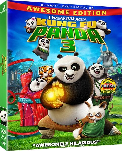 Кунг-фу Панда 3 / Kung Fu Panda 3 / 2016 / ДБ, СТ / 3D (HOU) / BDRip (1080p)
