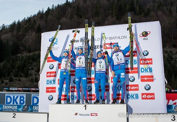 Россия - чемпиона мира по биталону 2017