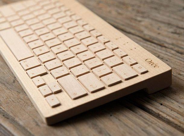 Беспроводная клавиатура из цельного куска дерева Oree Board 2 (4 фото)
