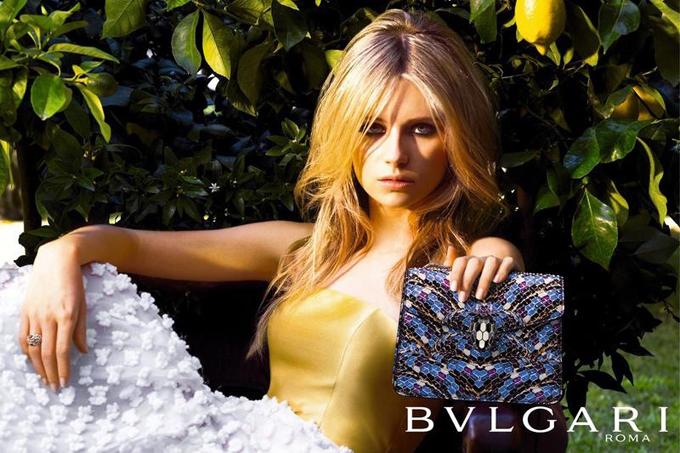 Лотти Мосс для рекламной кампании Bulgari