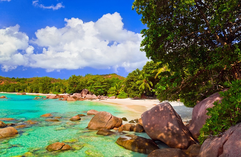 11. Анс-Лацио, остров Праслин, Сейшельские острова . Лучшее время для посещения: круглый год.