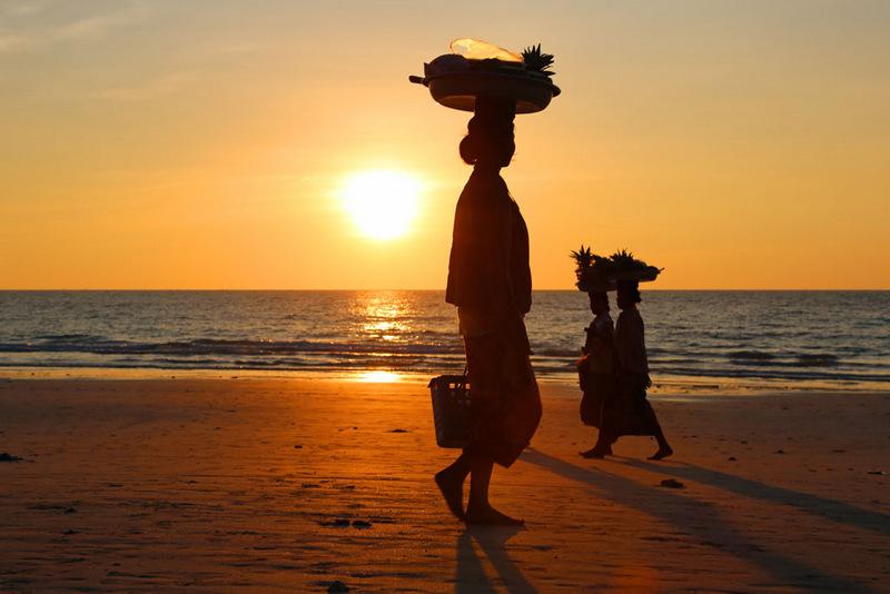 25. Нгапали, Мьянма . Лучшее время для посещения: с ноября по март.