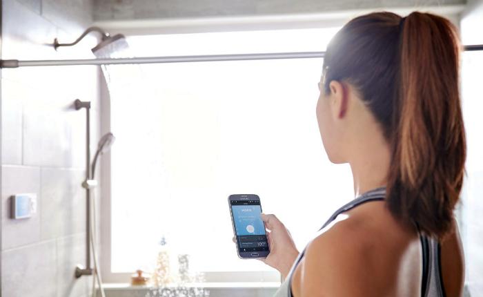 «Умный» душ U от Moen. Первая цифровая душевая кабина от компании Moen – это еще один шаг на пути к