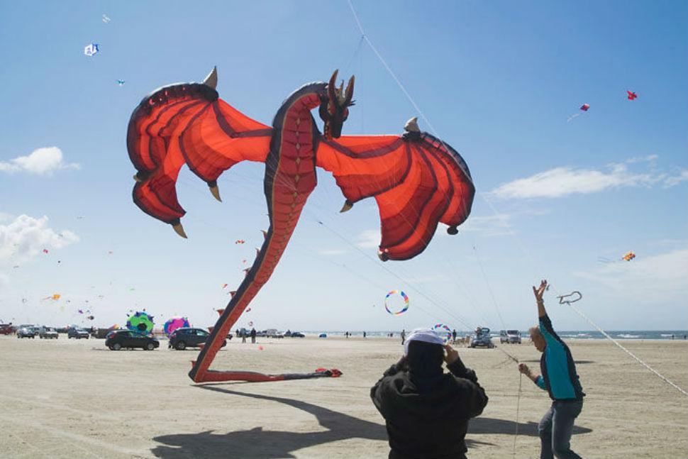 Воздушный змей, то есть дракон.