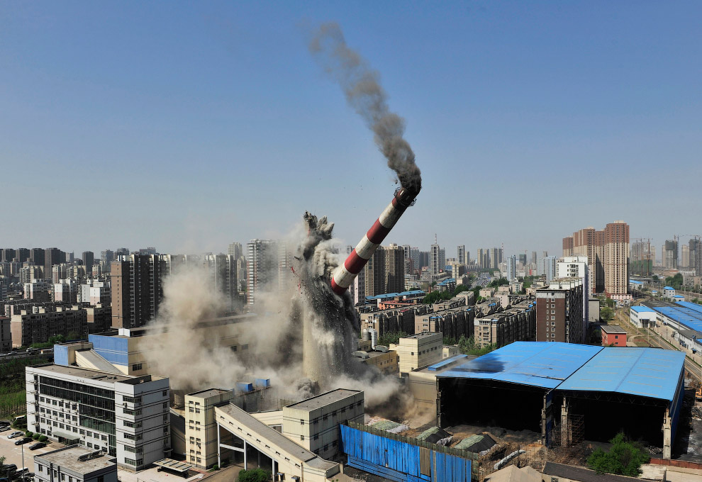 17. Взрыв дома-гвоздя в Гуанчжоу в провинции Гуандун, Китай, 8 января 2008. Что такое дома-гвоз