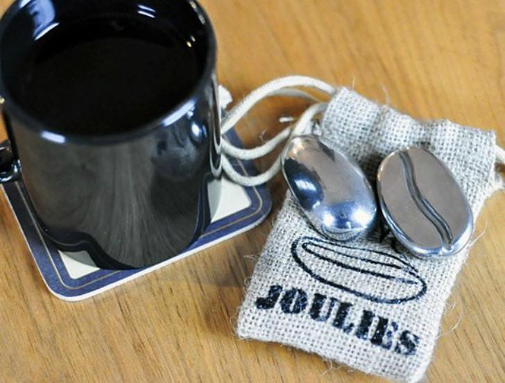 1. Зерна Coffee Joulies Зерна в оболочке из нержавеющей стали, заполненные неким энергоемким веществ