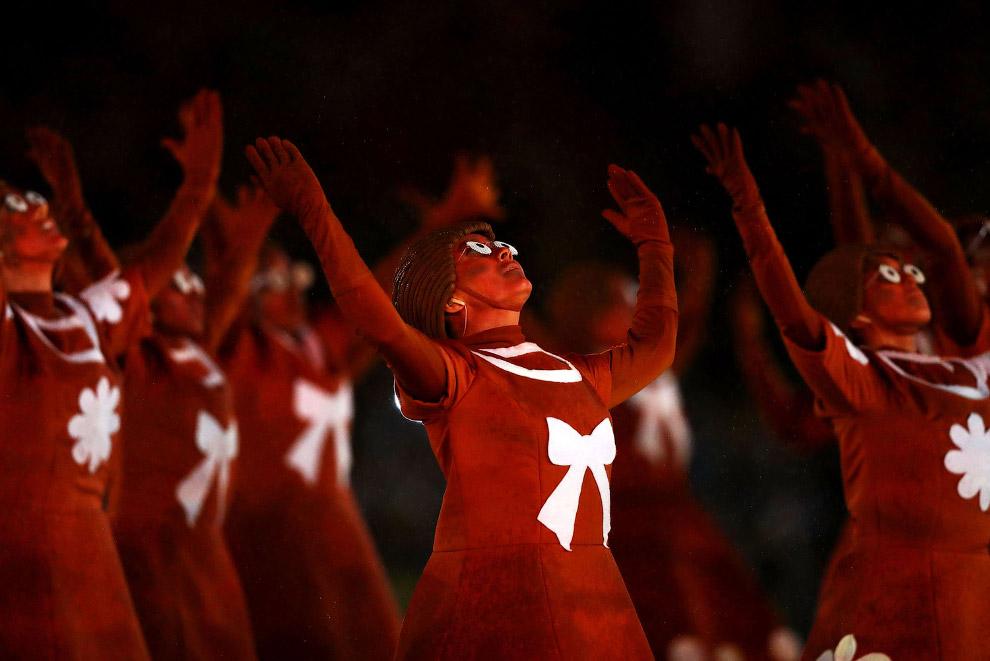 16. Спортсмены, участники шоу — в этот вечер все были вперемешку, Рио-де-Жанейро, 21 августа 20