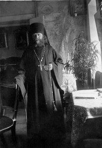 Игумен монастыря в своих покоях.