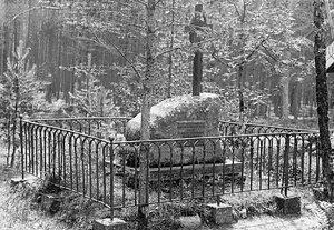 Могила генерала Николая Ивановича Манвелова.