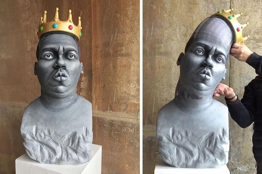 Эта скульптура может вывернуть мозг наизнанку