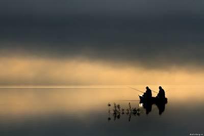 Трое русских рыбаков заплыли вЧерниговскую область