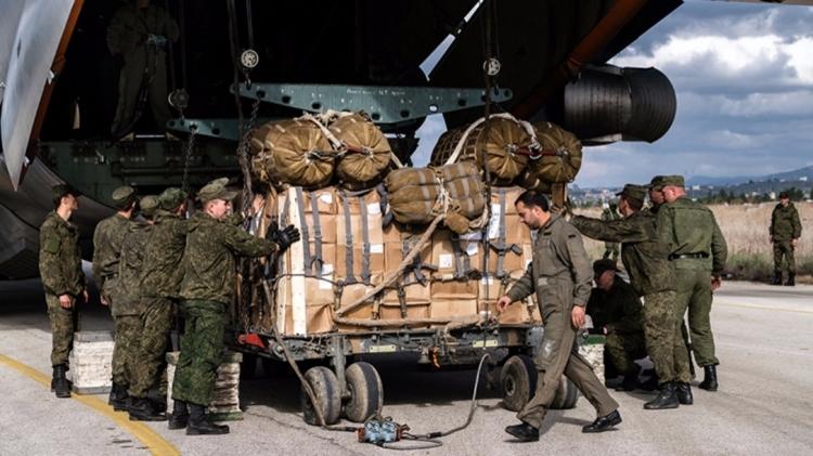 РФ доставила неменее 6-ти тонн гумпомощи жителям Сирии