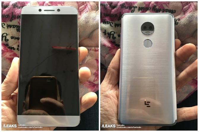 Фото Android-смартфона LeEco LeMax 3 сдвойной камерой