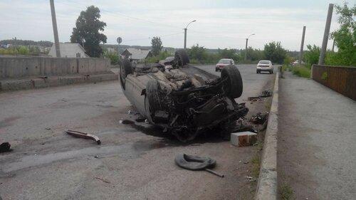 авария на мосту у ЦРБ 15.06
