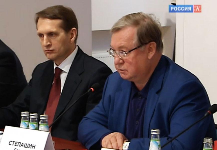 20170124_09-33-Сергей Степашин принял участие в заседании Оргкомитета по подготовке мероприятий к столетию революции 1917 года