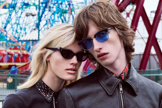 Discover Just Cavalli 's Fall Winter 2016.17 advertising campaign featuring models Benno Bulan