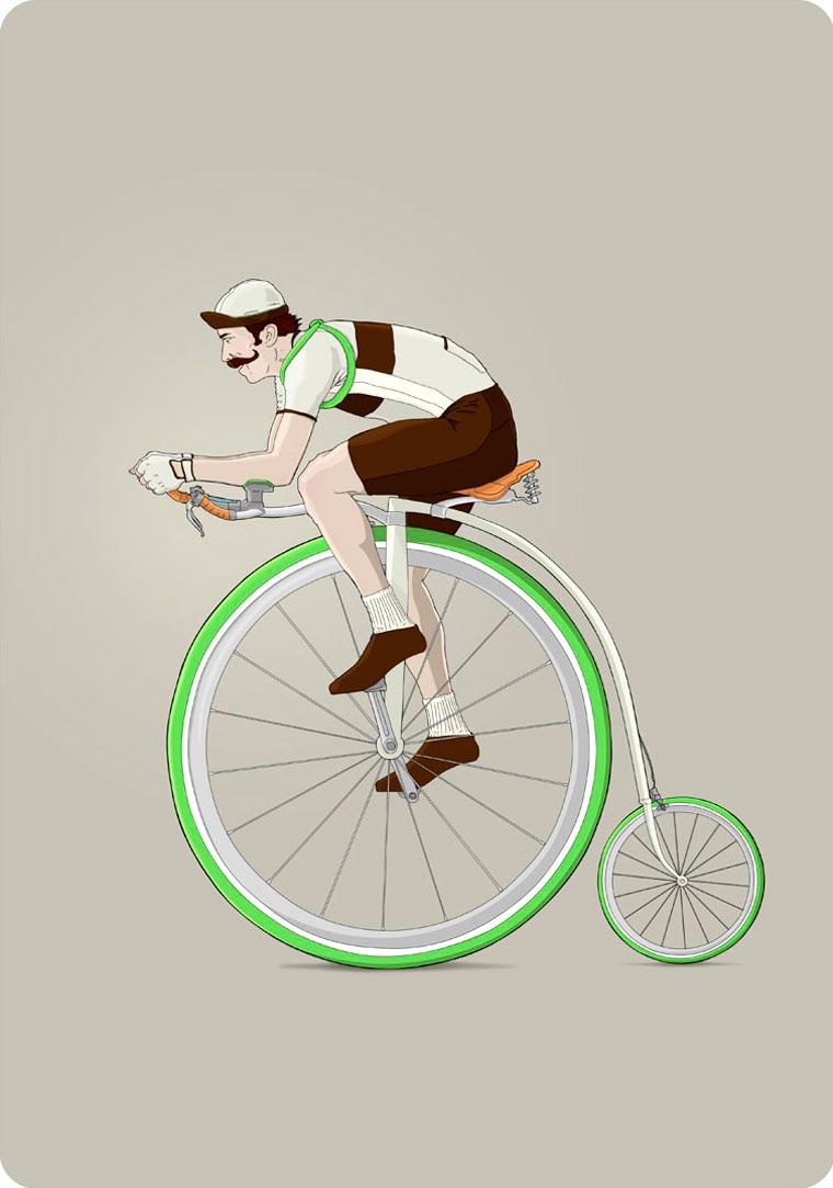 The strange bicycle concepts of illustrator Ibai Eizaguirre Sardon