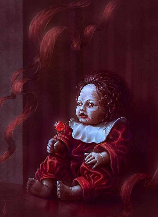 Surreal Portraits by Helga Sable