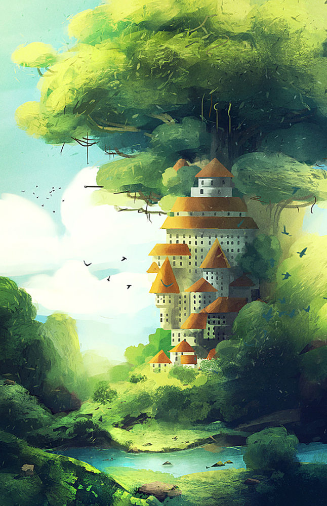 Concept Art & Illustrations by Yaniv Cahoua